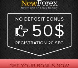 NewForex Broker – Trade Forex Without Deposit – 50$ Free Bonus!