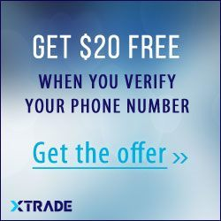 XTrade Broker – First Trade Risk Free! Cash Back up to 120$!