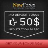 NewForex Broker – Trade Forex Without Deposit – 50$ Free Bonus!
